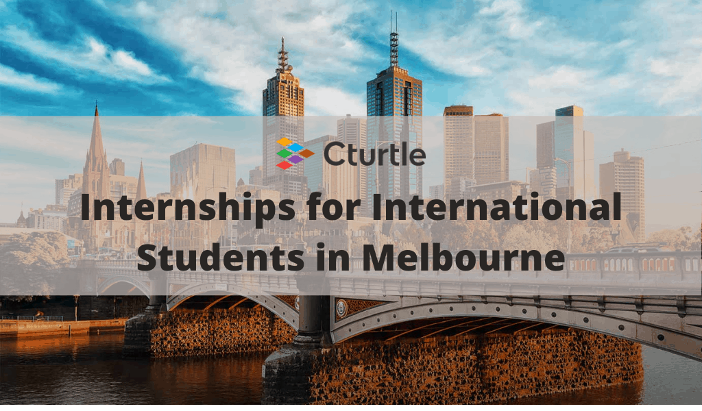 Internships for International Students in Melbourne
