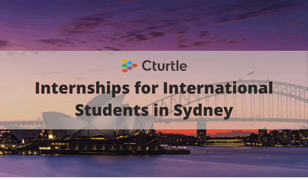 Internships for International Students in Sydney