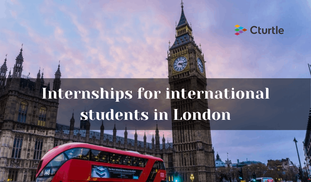 Internships for international students in London