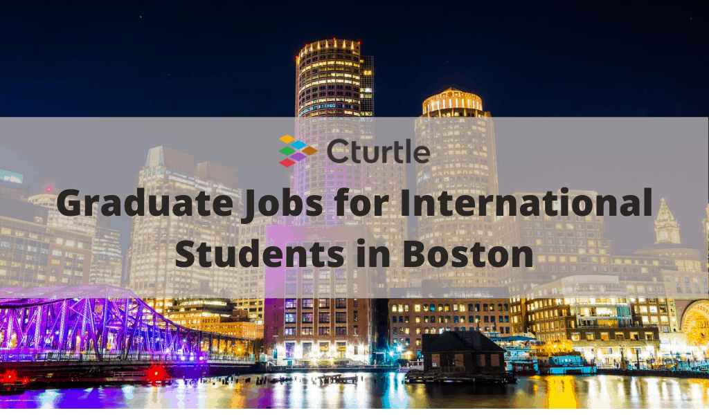 jobs for international students in boston
