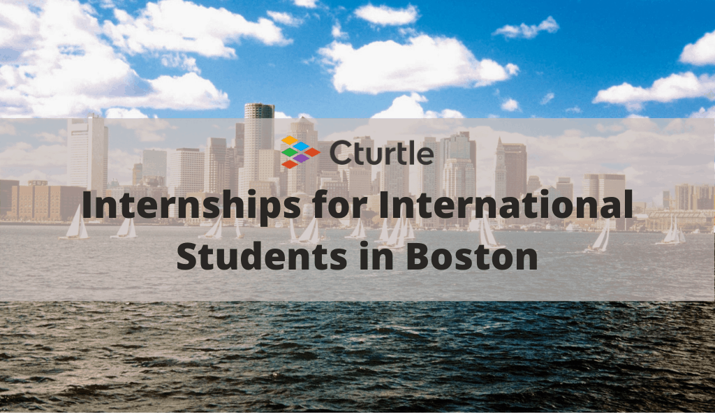 Internships for International Students in Boston