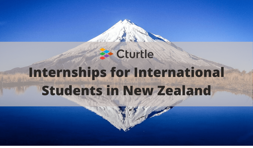 Internships for International Students in New Zealand