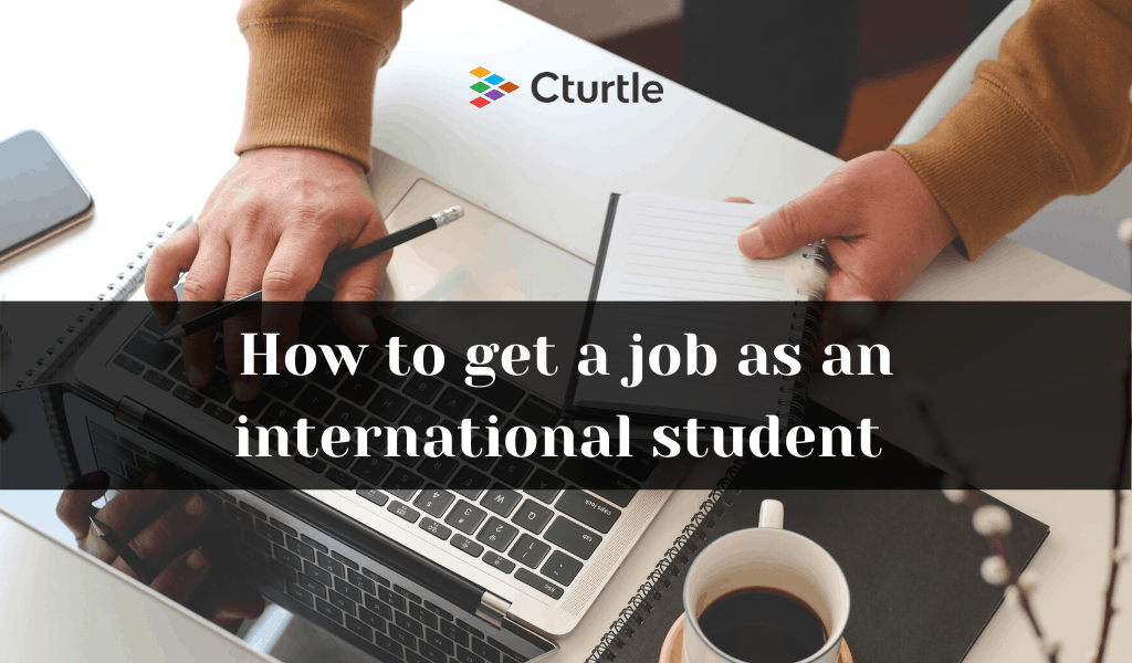job for international students