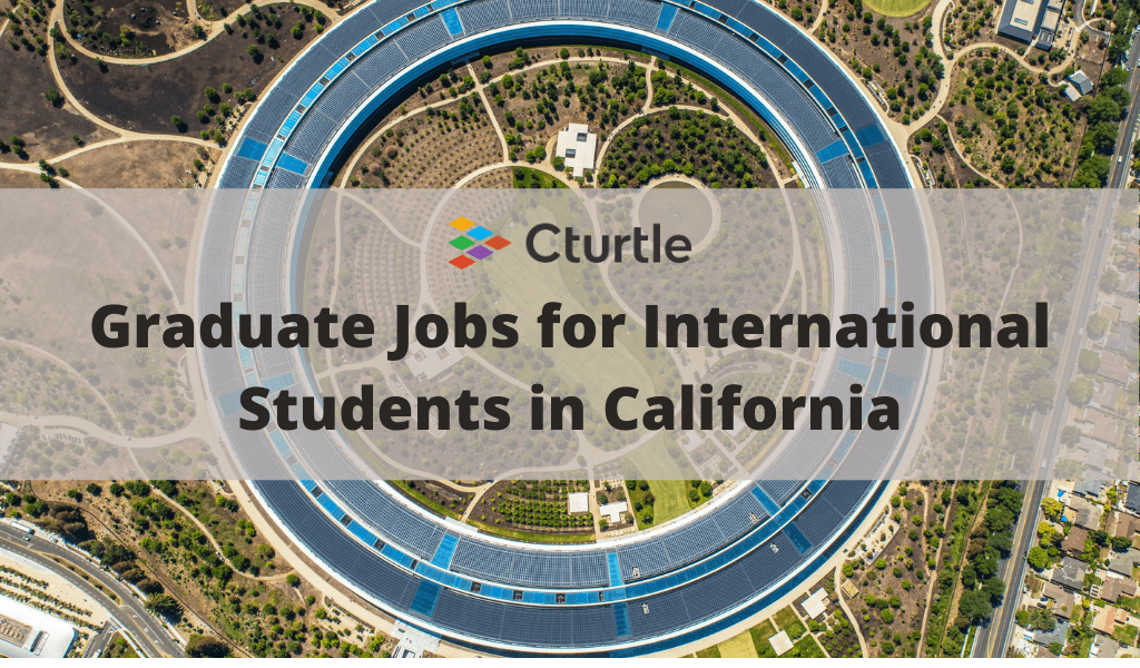 jobs for international students in california